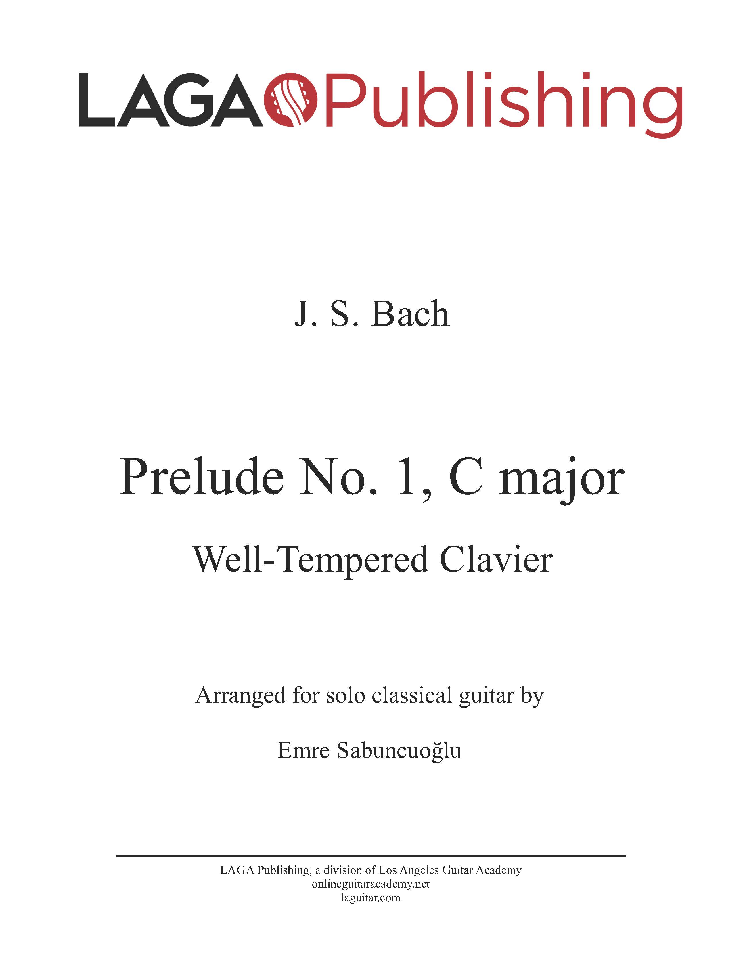 LAGA-Publishing-Bach-Prelude-WTC-1-Score-and-Tab