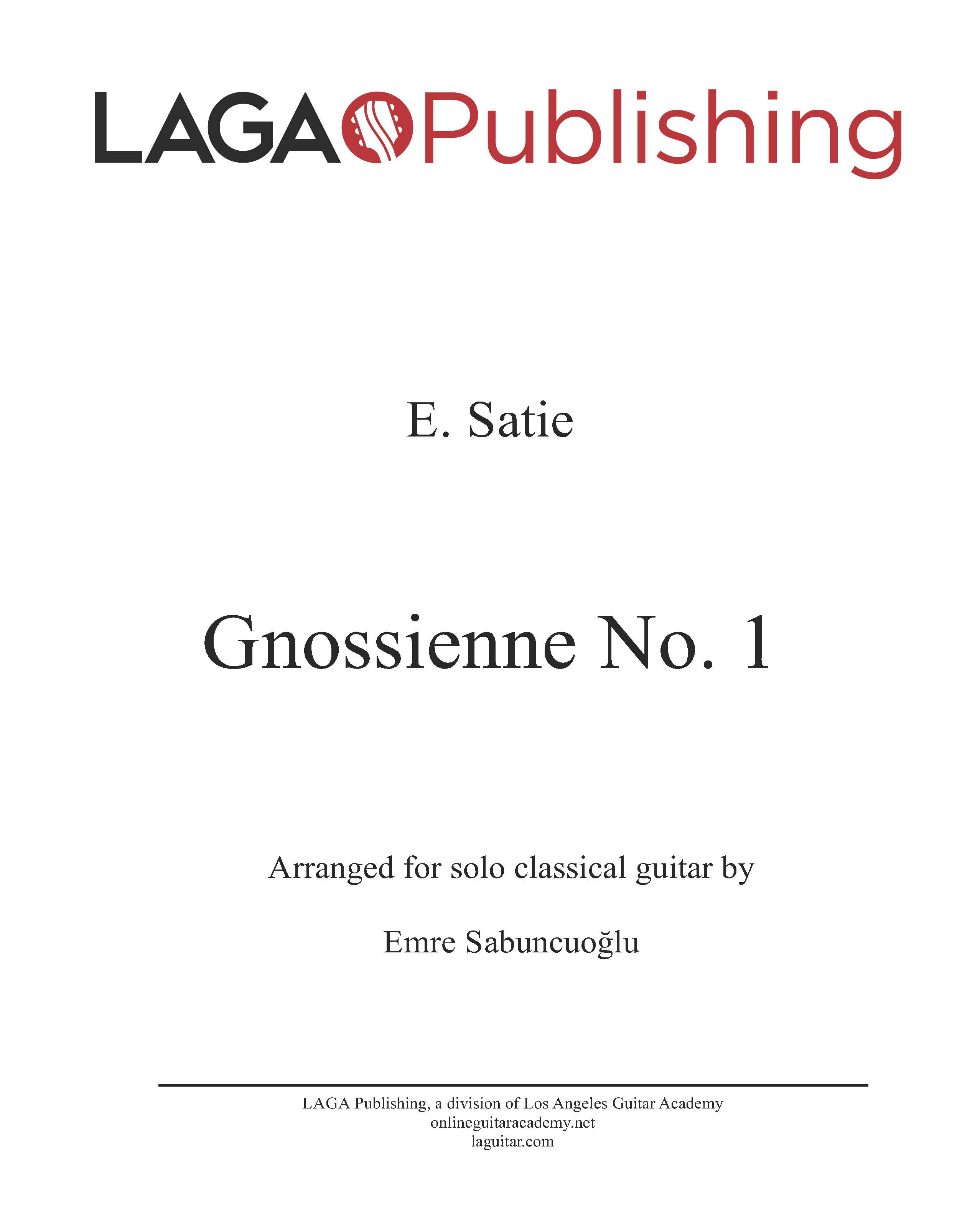 LAGA-Publishing-Satie-Gnossienne-1-Score-and-Tab