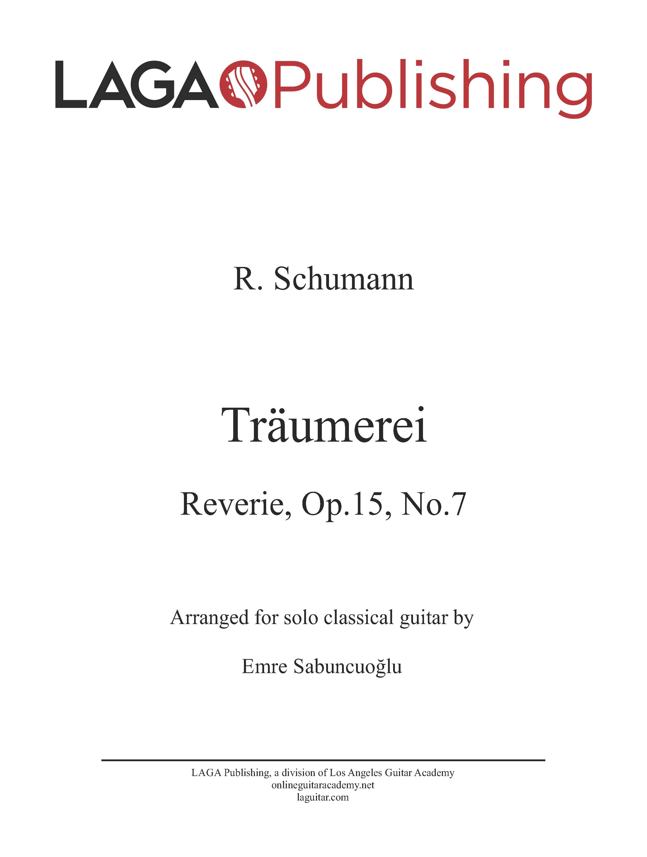 LAGA-Publishing-Schumann-Traumerei-Score-and-Tab