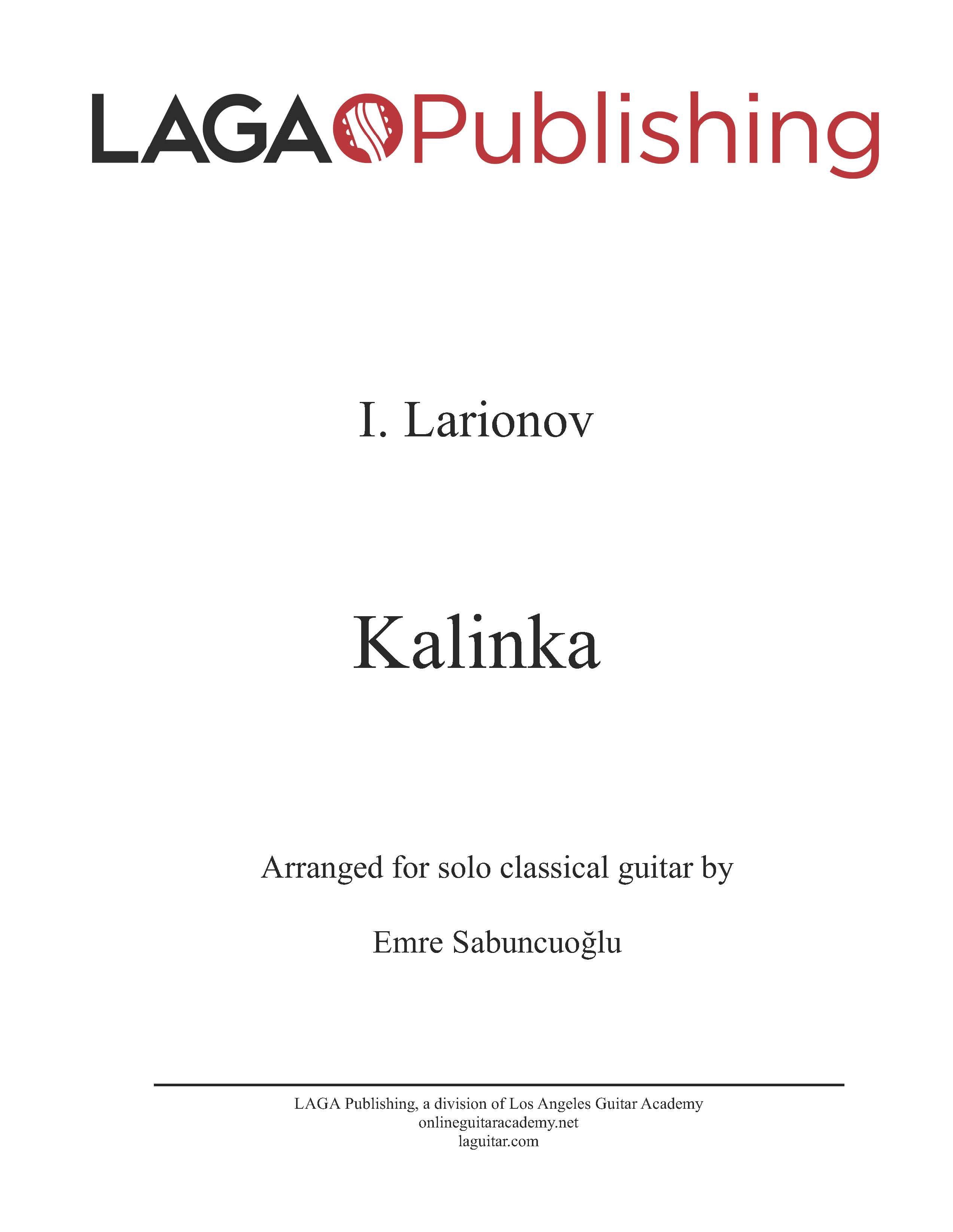 LAGA-Publishing-T-Kalinka-Score-and-Tab