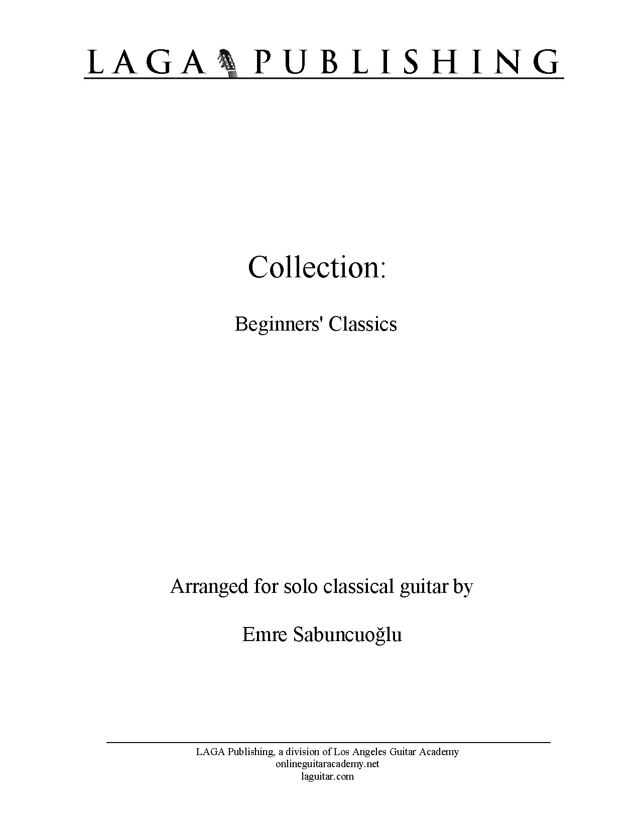 collection beginners classics