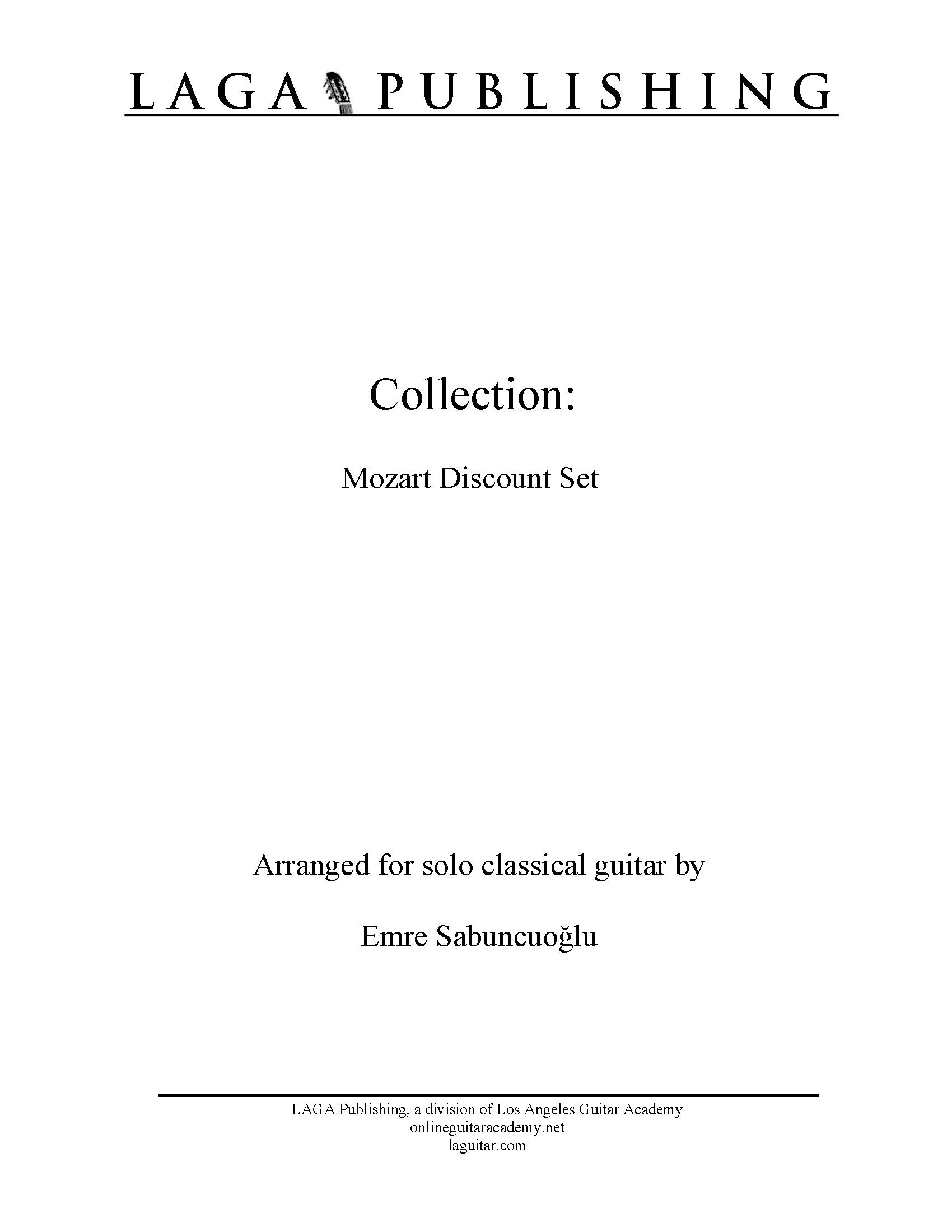 Collection: Mozart Discount Set