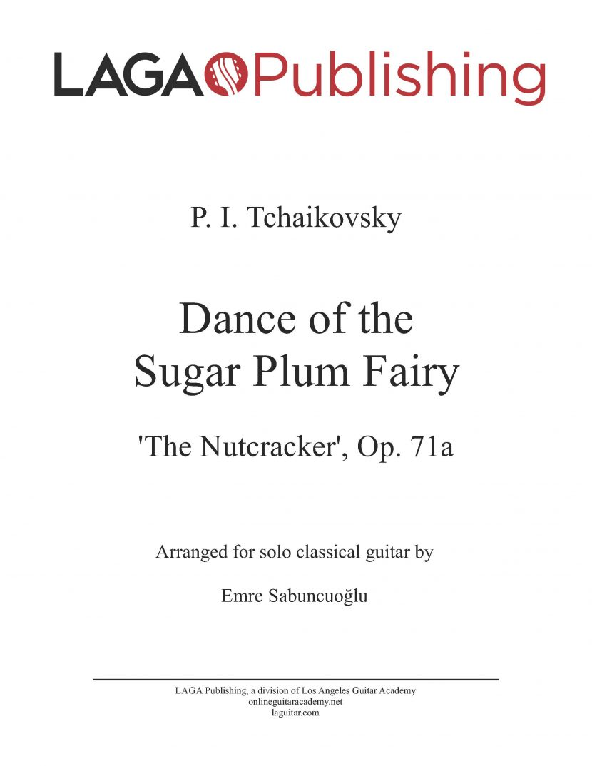 Dance of the Sugar Plum Fairy by P. I. Tchaikovsky