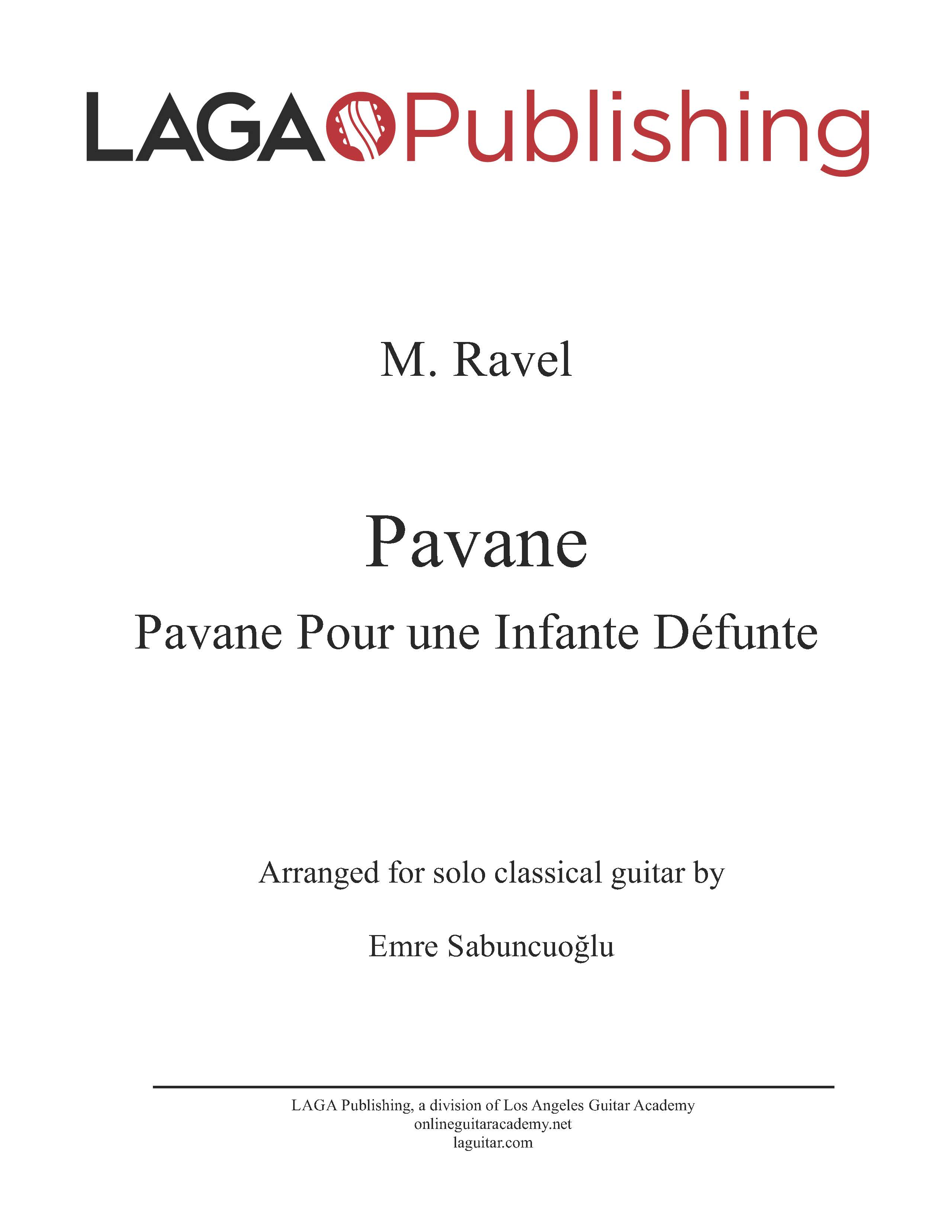 LAGA-Publishing-Ravel-Pavane-Score-and-Tab