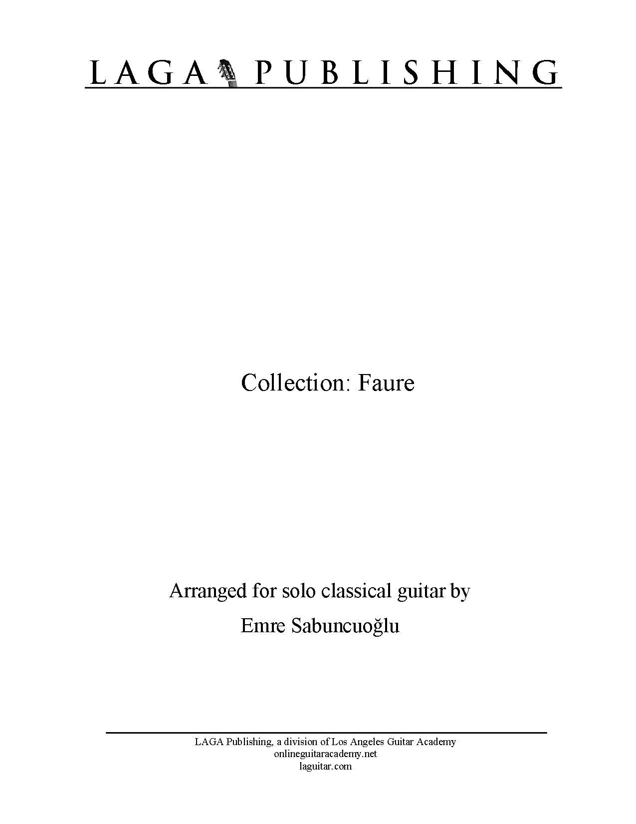 LAGA-Publishing-collection-Faure