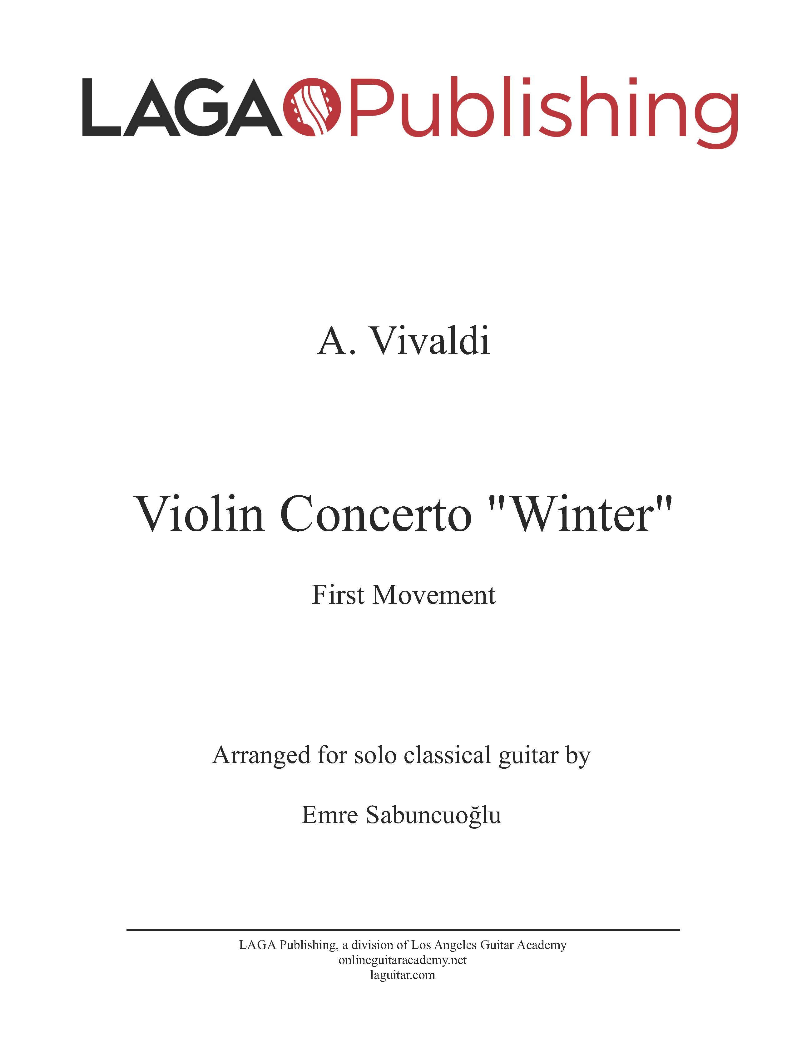 LAGA-Publishing-Vivaldi-4Seasons-Winter-I-Score-and-Tab