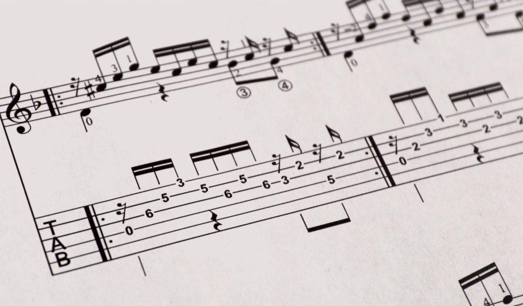 laga classical guitar tablature - tabs