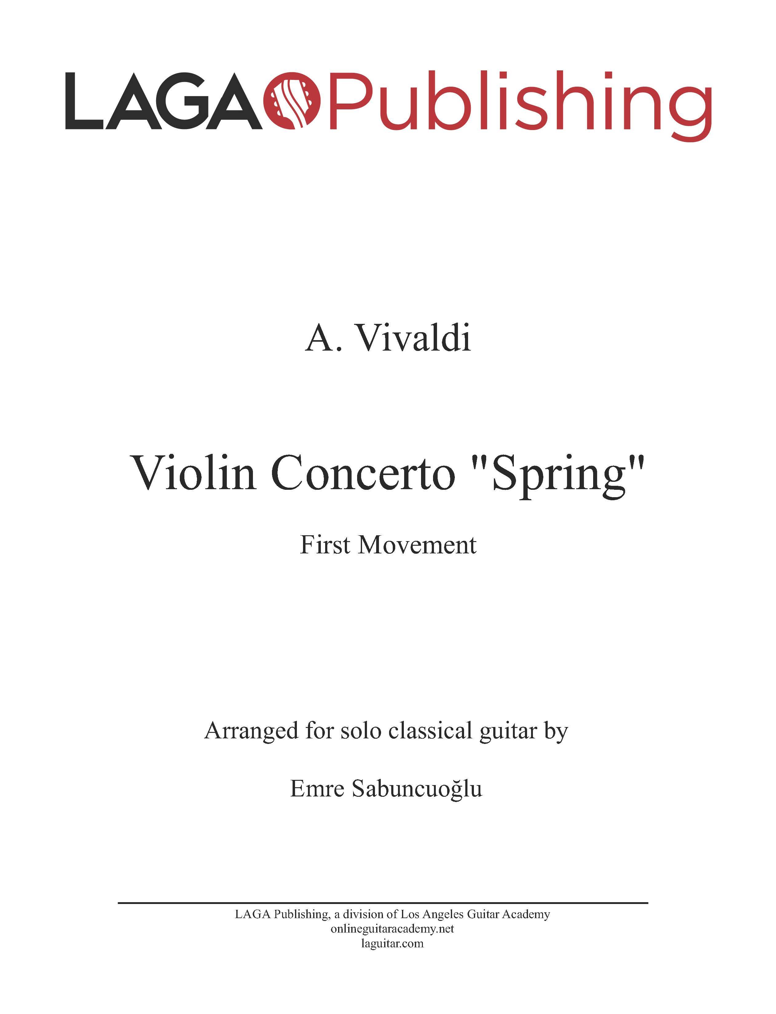 LAGA-Publishing-Vivaldi-4Seasons-Spring-I