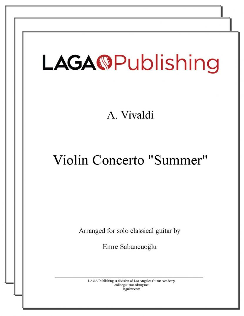 Summer (3 mvmts) from Four Seasons by Vivaldi