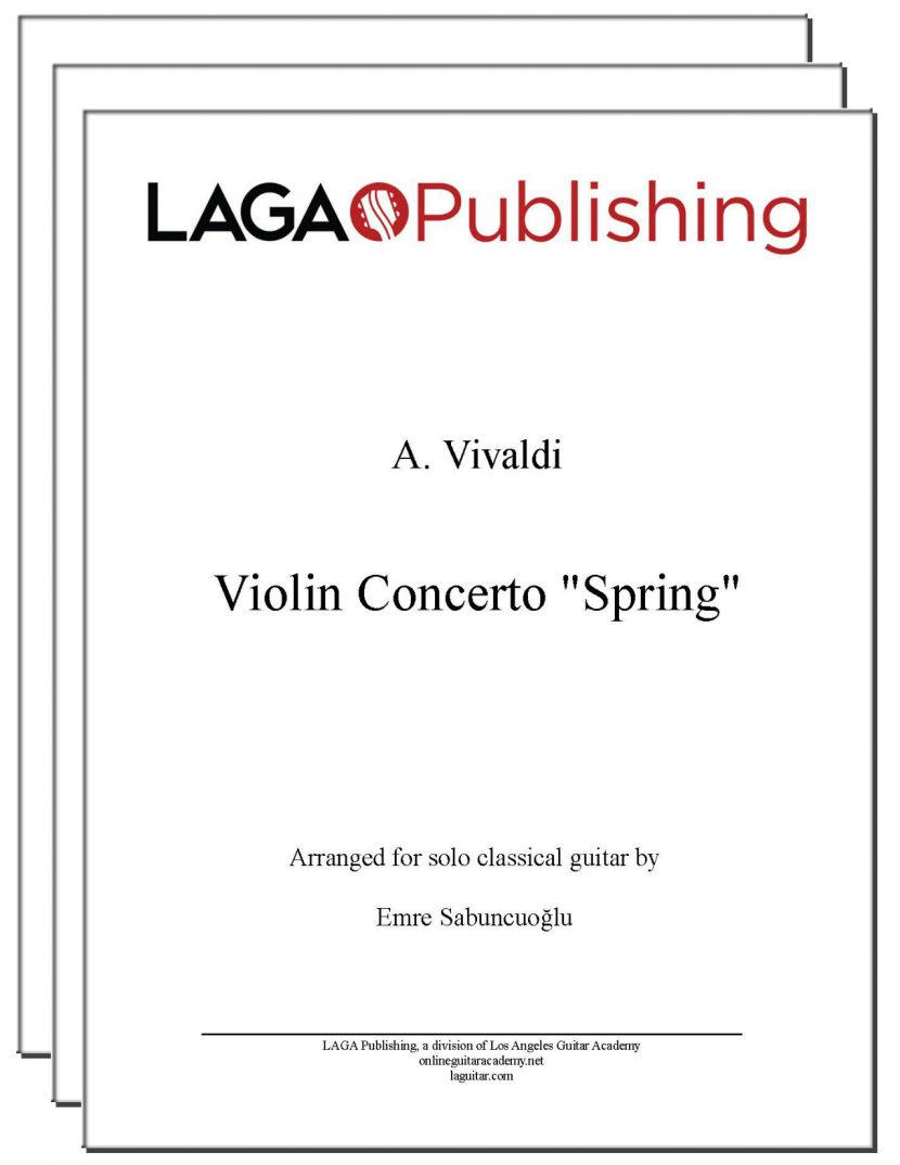 Spring (3 mvmts) from Four Seasons by Vivaldi