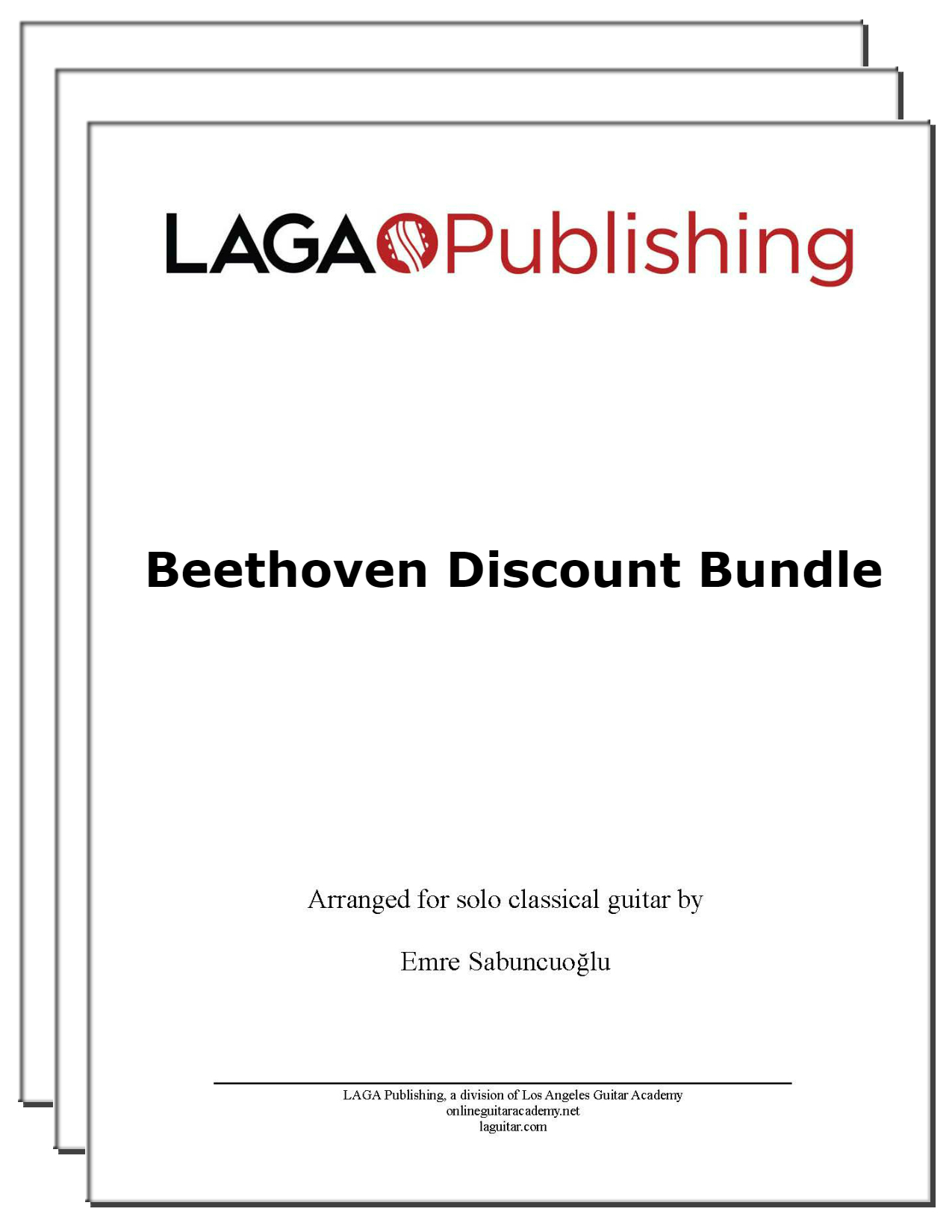 LAGA-Publishing-Beethoven-discount bundle