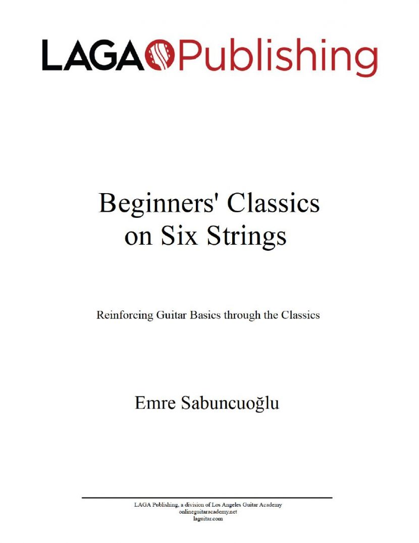 Beginners' Classics on the Six Strings
